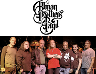The Allman Brother Ban logo and photo