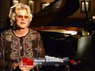 Bonnie being interviewed for a Tina Turner TV documentary