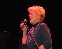 Bonnie at the Barbican rehearsal, London, 2005