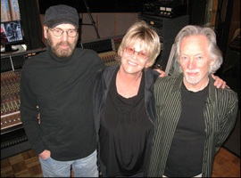 Don Nix, Bonnie and Klaus Voormann, Memphis session, 2009
