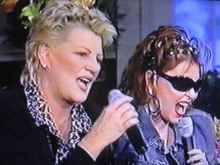 Bonnie and Roseanne singing on The Roseane Show, 2000