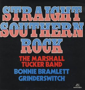 Straight Southern Rock sampler album cover