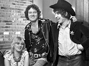 Bonnie, Phil Walden and Elvin Bishop